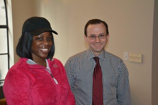 TriHealth Otolaryngologist Doctor Brian Goico and Shanice McGrew