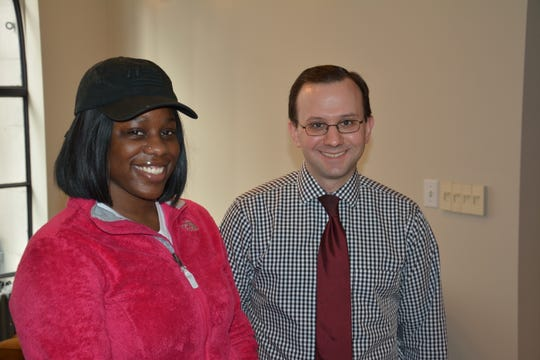 TriHealth Otolaryngologist Doctor Brian Goico and Shanice McGrew