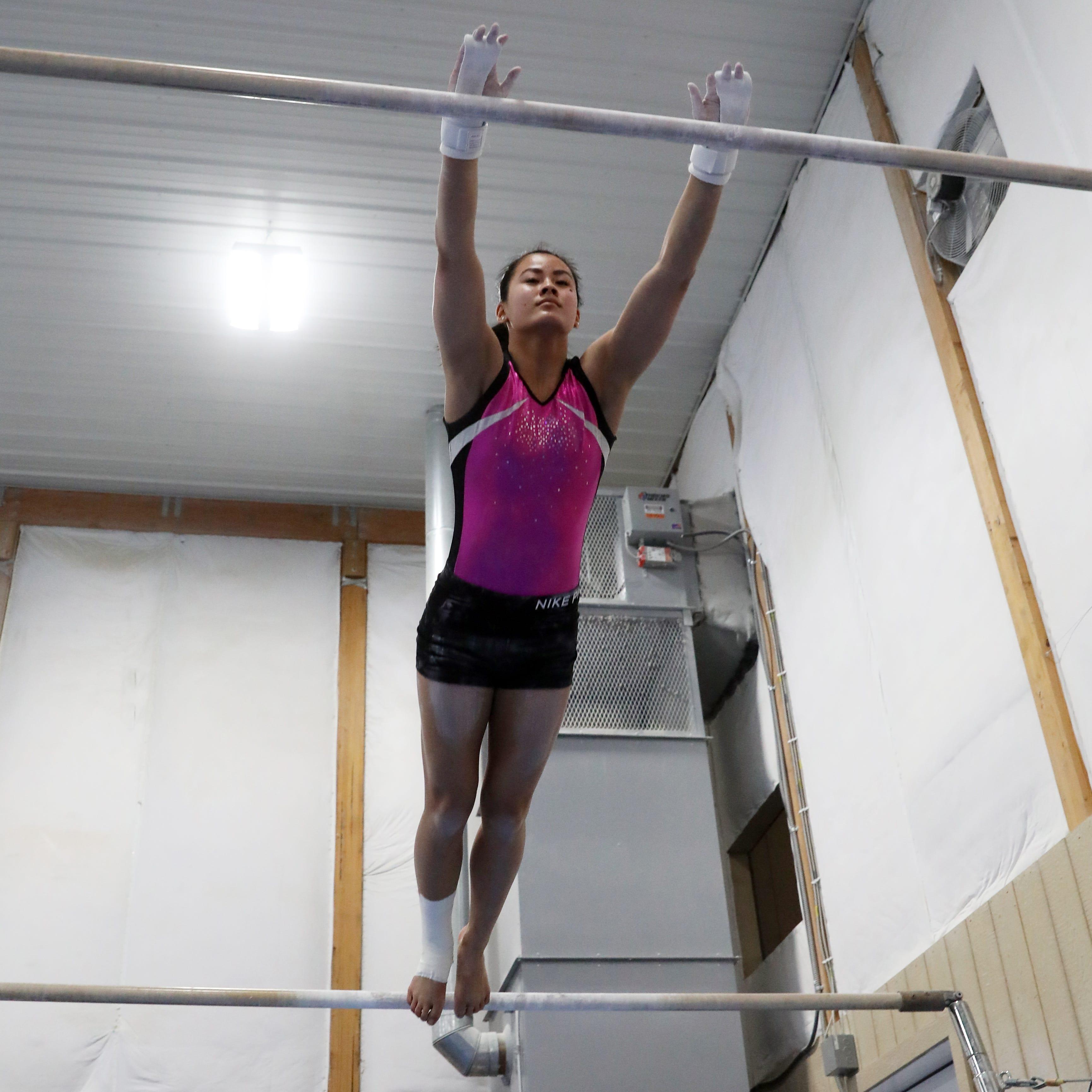 Ridgewood gymnast never wavers against adversity