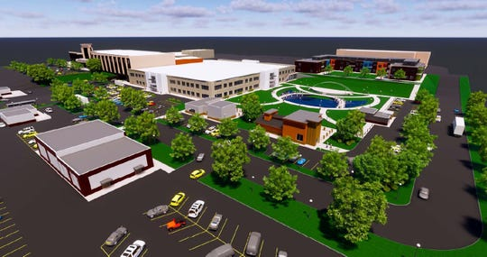 Valley West Mall plans to rebrand itself as Valley West Commons and redevelop the West Des Moines shopping center into a mixed-use development with more restaurants, entertainment venues, shopping and housing over the next decade.