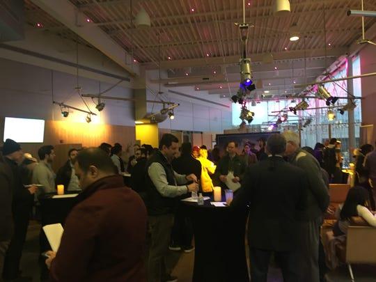 Detroit Blockchain & Fintech Pitchfest held Thursday Feb. 28 in Midtown Detroit.
