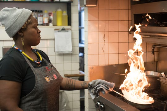 "Chef Suzanne Barr is featured in ""The Heat: A Kitchen Revolution"", playing Freep Film Festival 2019."