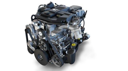 The 2019 Ram Heavy Duty 6.7 liter Cummins I-6 generates 1,000 pound feet of torque.