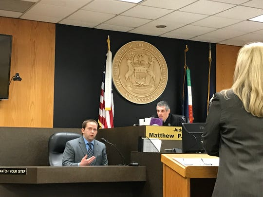 Warren Police Detective Corporal Jim Twardesky testified Friday in 37th District Court at the preliminary examination of Tanaya Lewis on a charge of first-degree murder.
