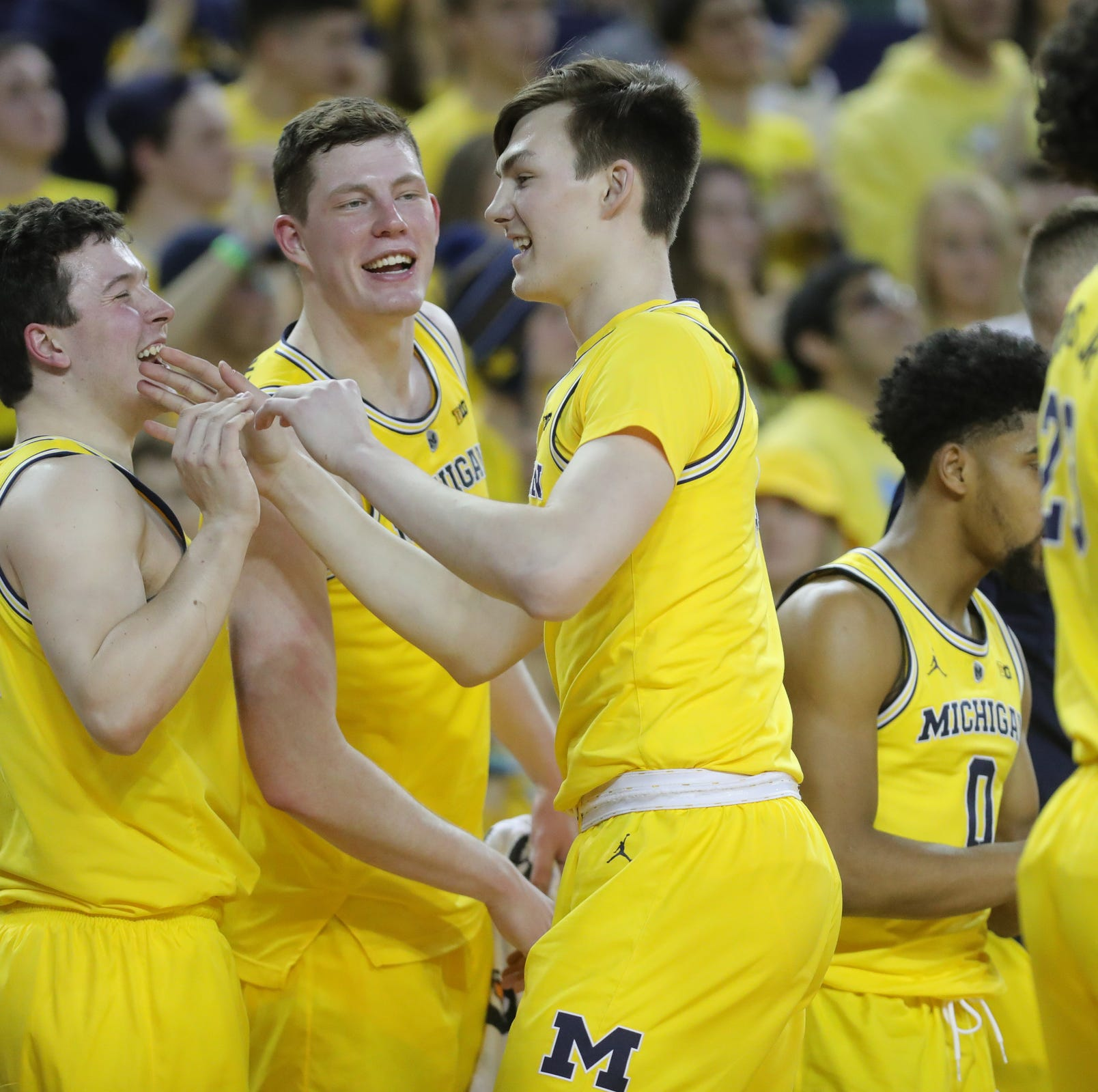 Colin Castleton makes the most of his opportunity for Michigan basketball