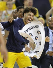 Michigan's Jordan Poole was named honorable mention all-conference in the Big Ten.