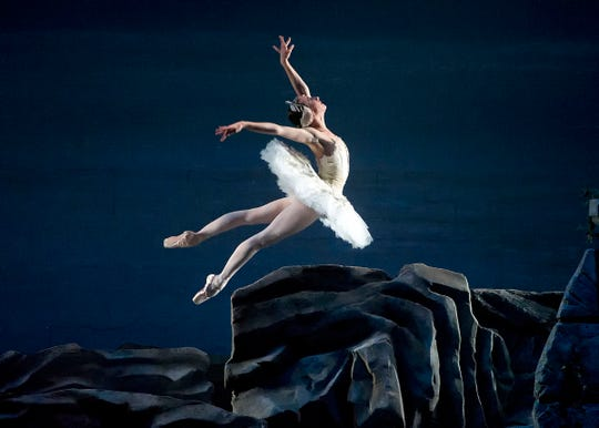 "The American Ballet Theatre's ""Swan Lake"" arrives April 16-19, 2020, at the Opera House."