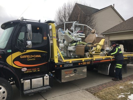 An unlicensed dental operation in a Clinton Township basement led to a felony arrest, Clinton Township Police reported March 1.