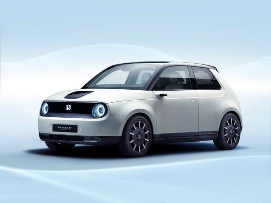 Honda's e Prototype electric car will debut at the Geneva auto show