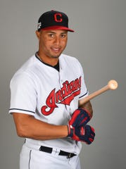 Cleveland outfielder Leonys Martin played just six games for Cleveland last season after being traded by the Tigers at the trade deadline in July.
