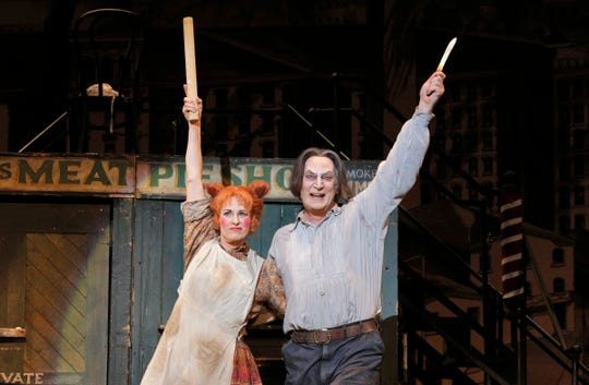 "Stephen Sondheim's ""Sweeney Todd"" centers on a demonic barber and his pie-making accomplice."