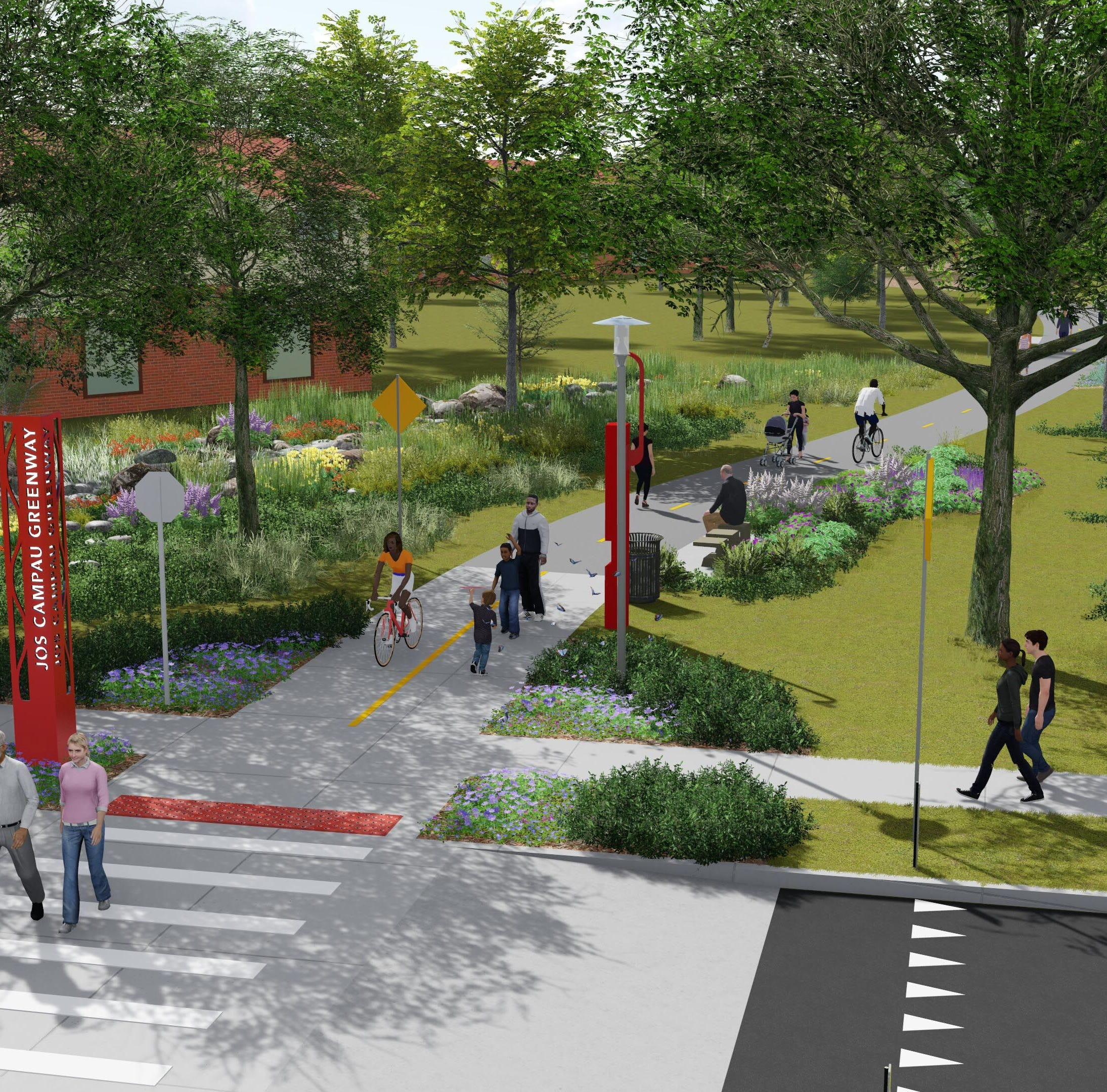 4 projects to bring Detroit RiverWalk closer to its full vision