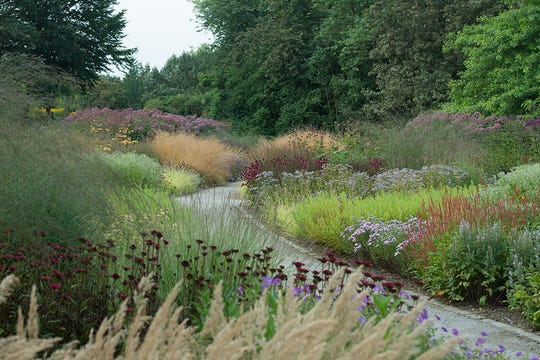 Maximilianpark in Hamm, Germany is an example of the gardens Piet Oudolf creates with constantly changing and evolving plants.