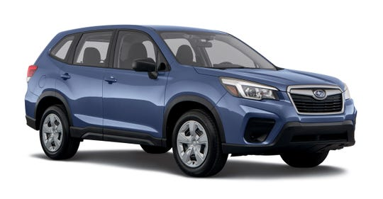 Subaru bucked the downward trend with a February sales increase of 3.9 percent over a year ago. Sales of its new Forester climbed 12.8 percent.