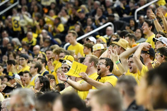 Michigan closed out its home slate at Crisler Center with 15 straight sellouts.