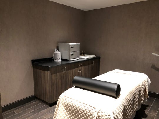 Massages will be offered in the hotel's spa.