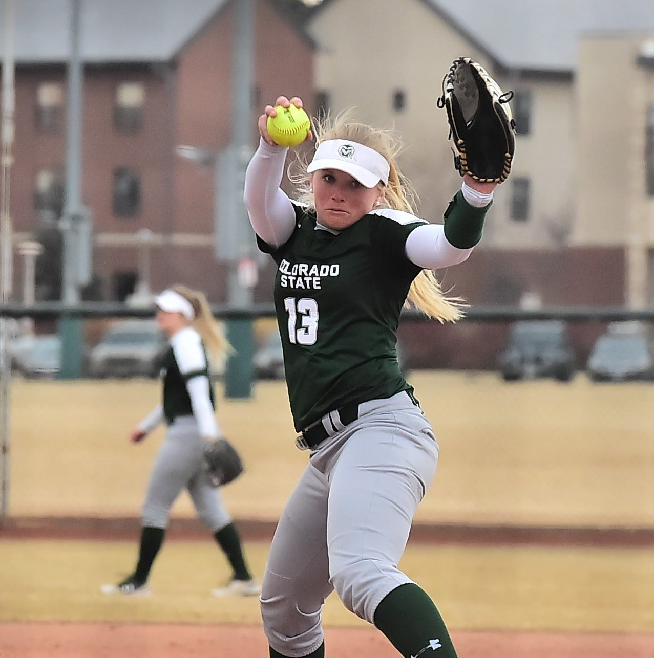 CSU softball is in DNA of pitcher Bridgette Hutton