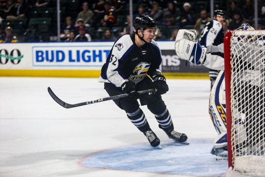 The Colorado Eagles AHL hockey team takes on San Antonio on Tuesday, Nov. 12.