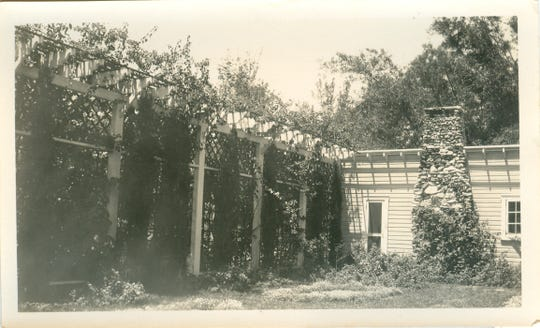 Mina Edison's Moonlight Garden as it originally appeared