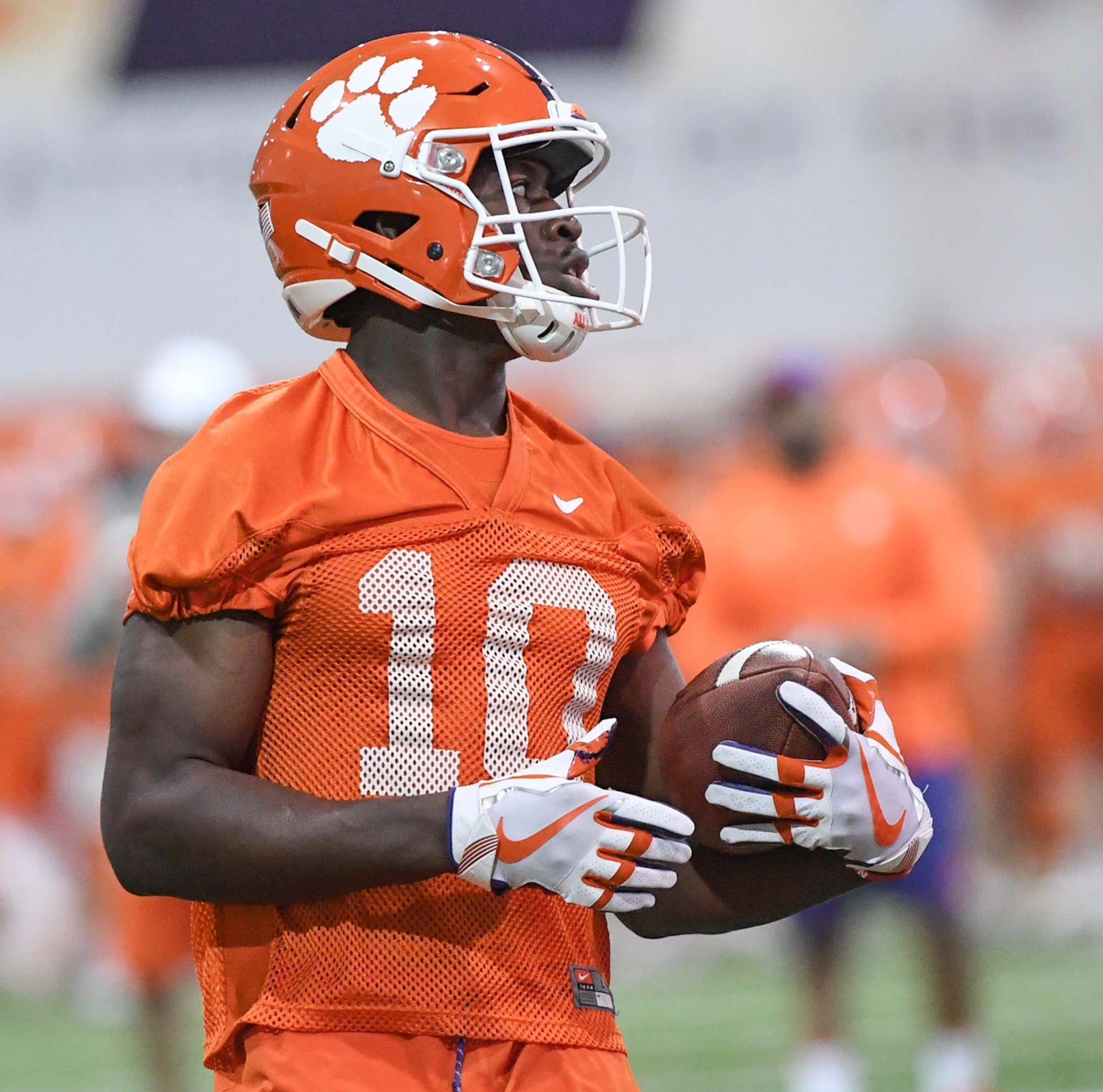 Clemson football Spring Game: Freshmen receivers Frank Ladson, Joseph Ngata have big days
