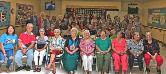 The Guam Sunshine Lions Club visited the Yigo Sr. Citizens Center on Feb. 27 and provided snacks and bingo chips while the manamko' reciprocated with light refreshments for the Lions. Fun, fellowship, and cheer was enjoyed by everyone throughout the visit.