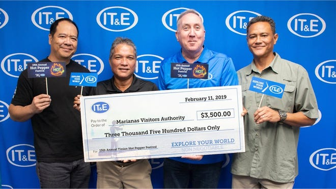 IT&E supported community organizations in February to promote the youth, arts and traditions of the Marianas and help those affected by illness. IT&E donated to Marianas Visitors Authority for the 15th Annual Tinian Hot Pepper Festival and the Saipan Marathon.