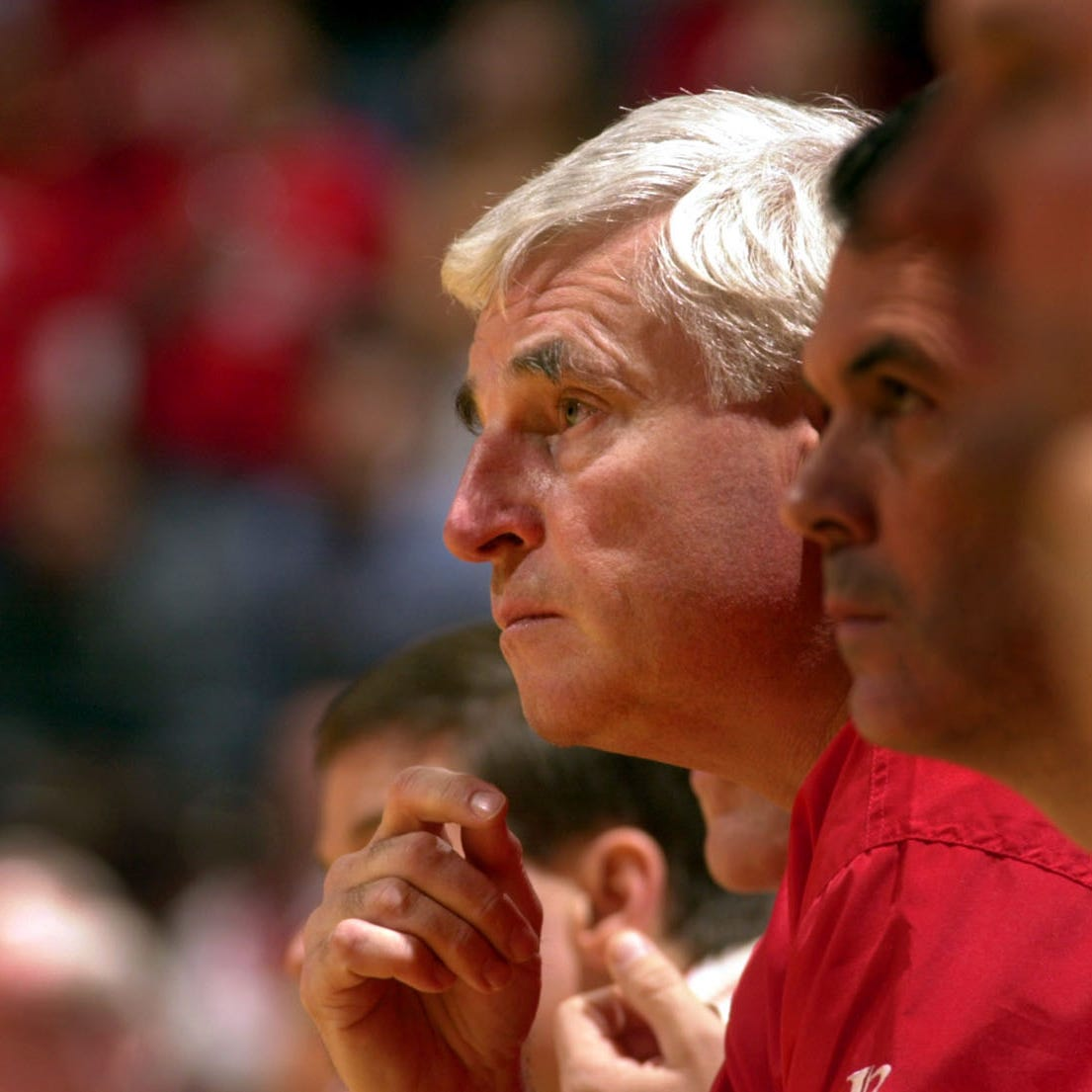 Bob Knight makes first public appearance at IU since farewell speech in 2000