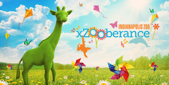The Indianapolis Zoo debuts a 12-day spring festival, xZooberance, from March 21 to April 7.