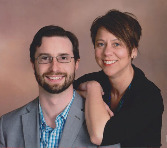 Pastor Sean McRoberts, pictured with his wife of 13-years, Colleen.