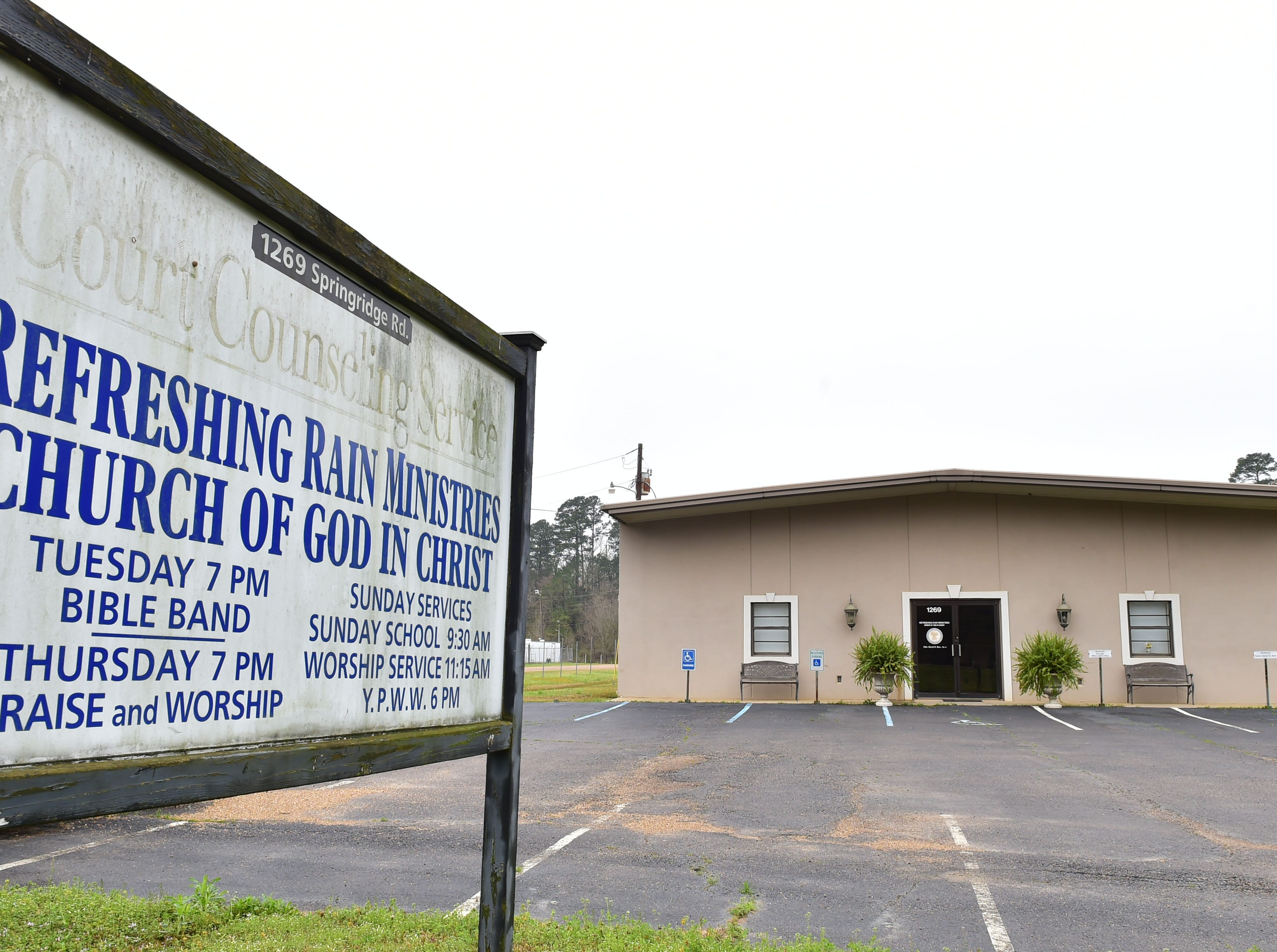 Refreshing Rain Ministries Church of God in Christ in Clinton was the place of worship for 15-year-old Cam'Ron Dowell. Dowell died of injuries sustained in a car accident Feb. 23, 2019.