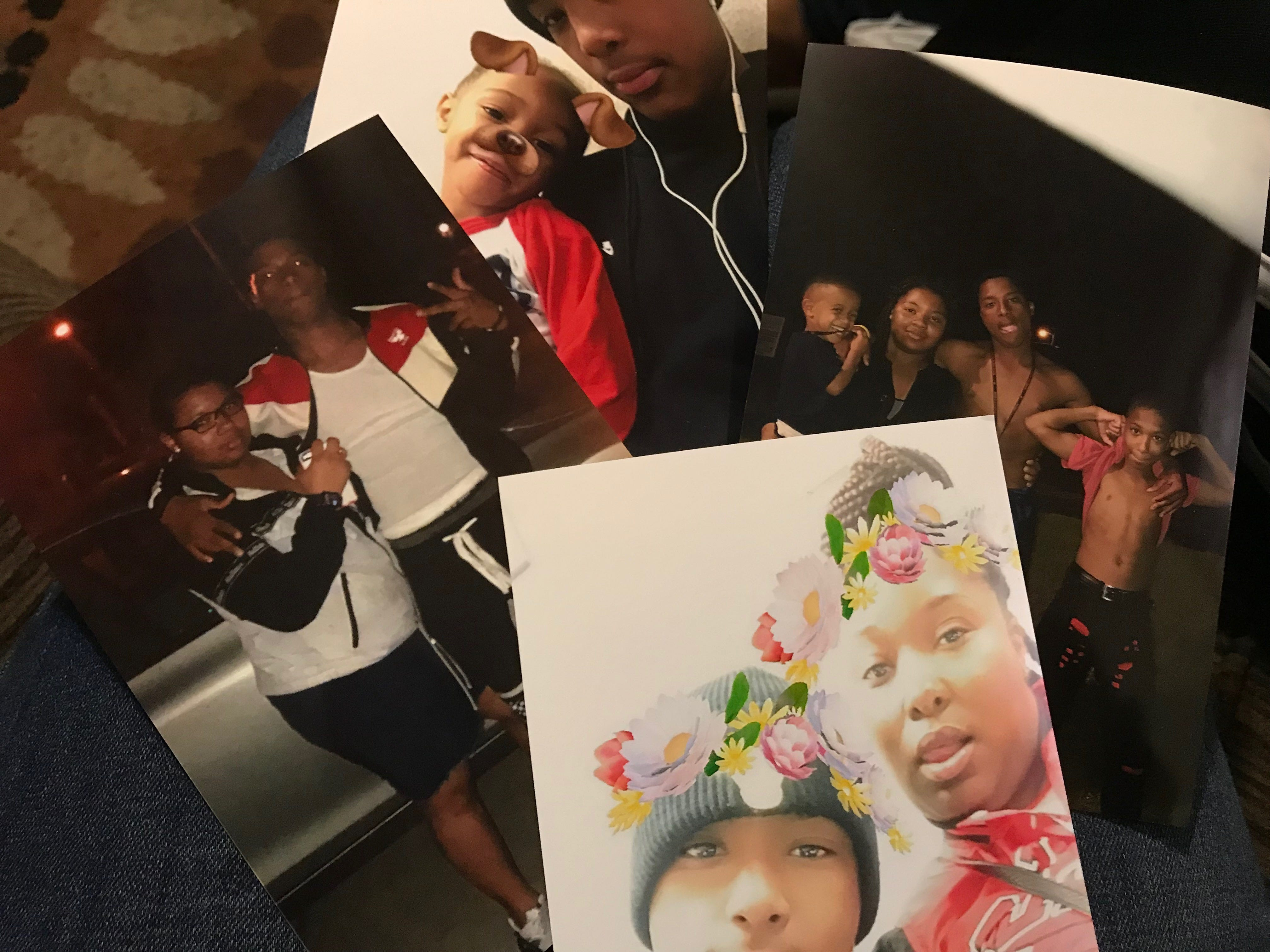 Family photos of  Cam'Ron Dowell of Clinton.
