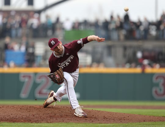 Mississippi State junior pitcher Ethan Small is off to a strong start in 2019. Small has yet to record a decision, but he has an earned run average of 2.00 and 30 strikeouts in his three starts.