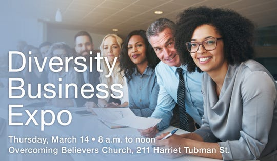 Purchasing agents for local governments want to hear from small and minority-owned firms at the free Diversity Business Expo on Thursday, March 14.