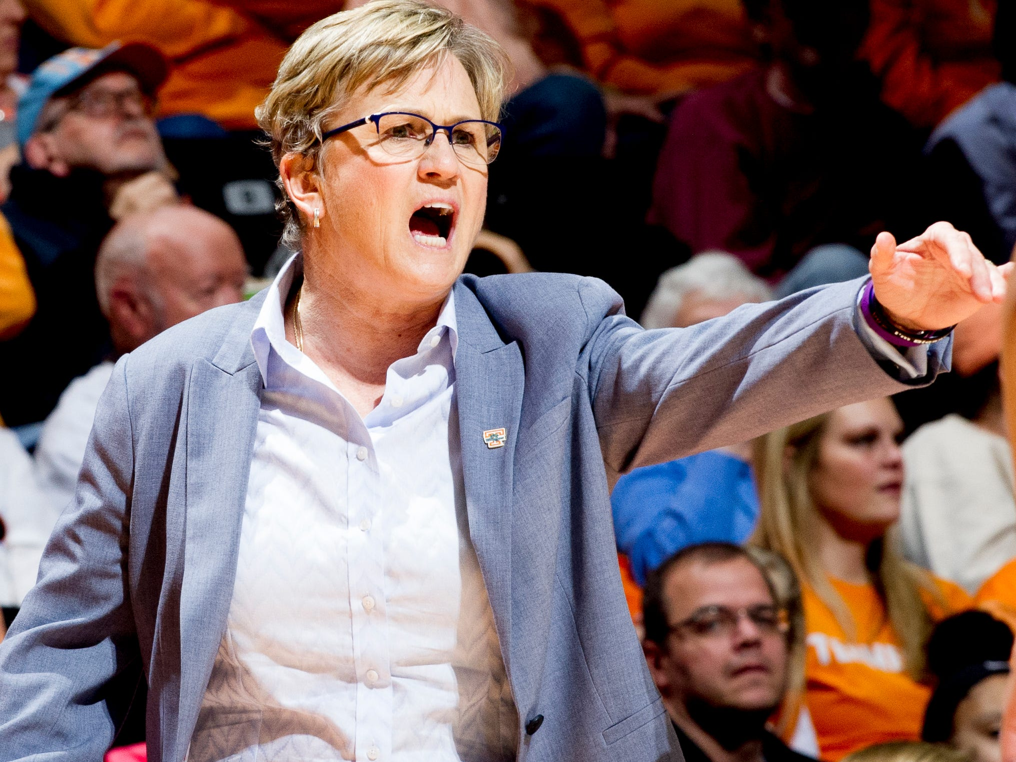 Holly Warlick is out as Tennessee coach.