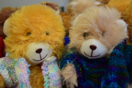 Each tiny bear received its own custom vest.