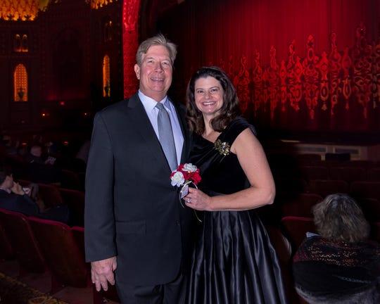 Jim and Beth Evans. Feb. 24, 2019.