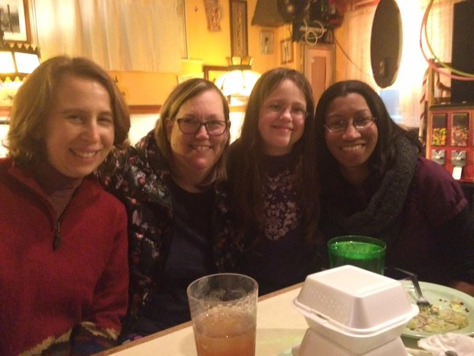 "Margaret Wood, Cathy Shepherd, Amelia Bumpus and Lydia Jones enjoy a ""girls' night out"" at King Tut Grill in Vestal."