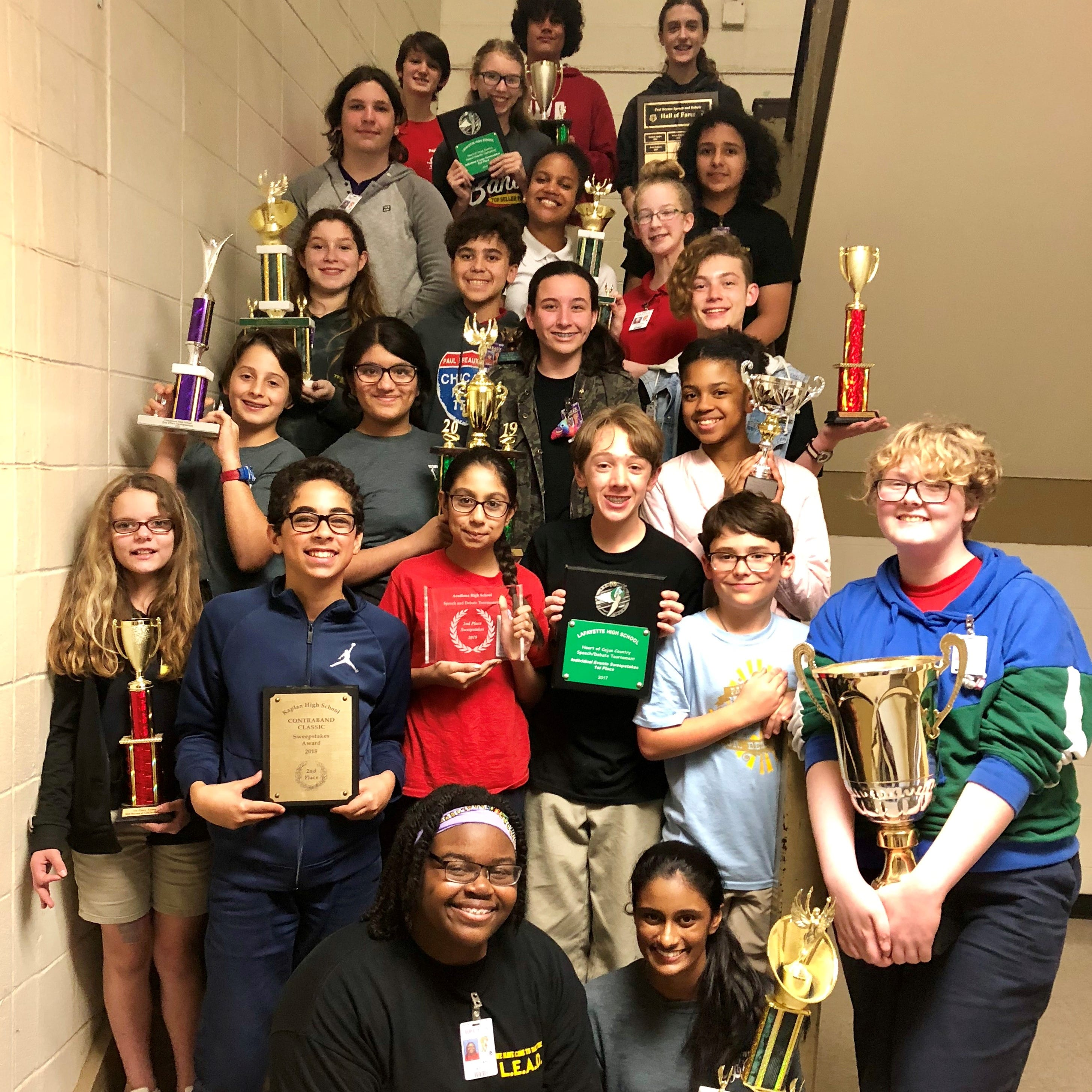 Paul Breaux Middle speech team dominates at Mississippi tournament