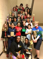 Paul Breaux Middle School's speech team is racking up trophies.