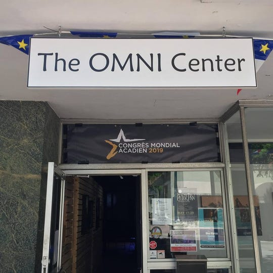 Entrance to The Omni Center