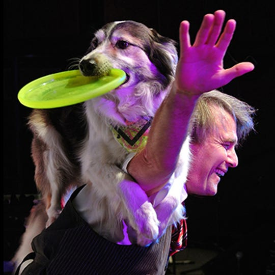 Scott and Joan Houghton bring their comedy dog thrill show to the Capitol Civic Centre.