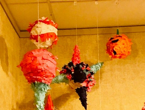 Paper mache projects for Manitowoc Youth Art Show