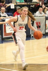 Shelby's Emma Randall was named Division II First Team All-Northwest District