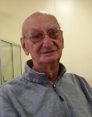 Korean War veteran Carl Hecker was a crew chief aboard a B-52 bomber