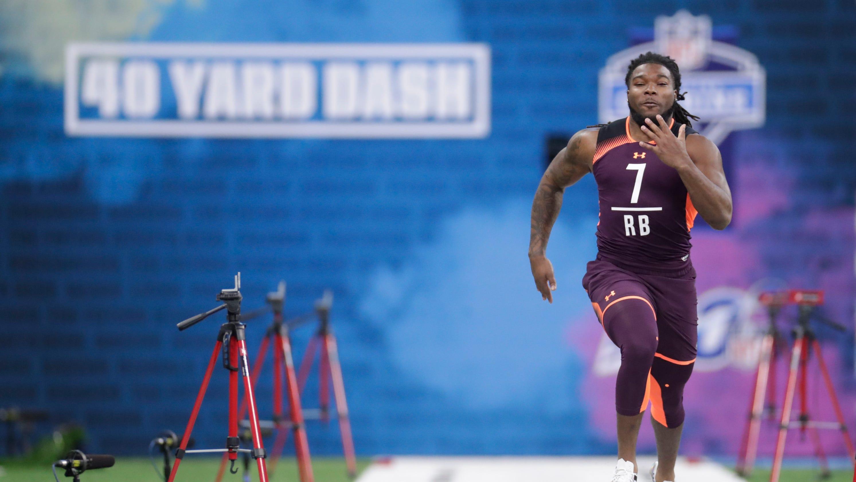 bb1617444 NFL Combine: Darrell Henderson and Tony Pollard showcase speed