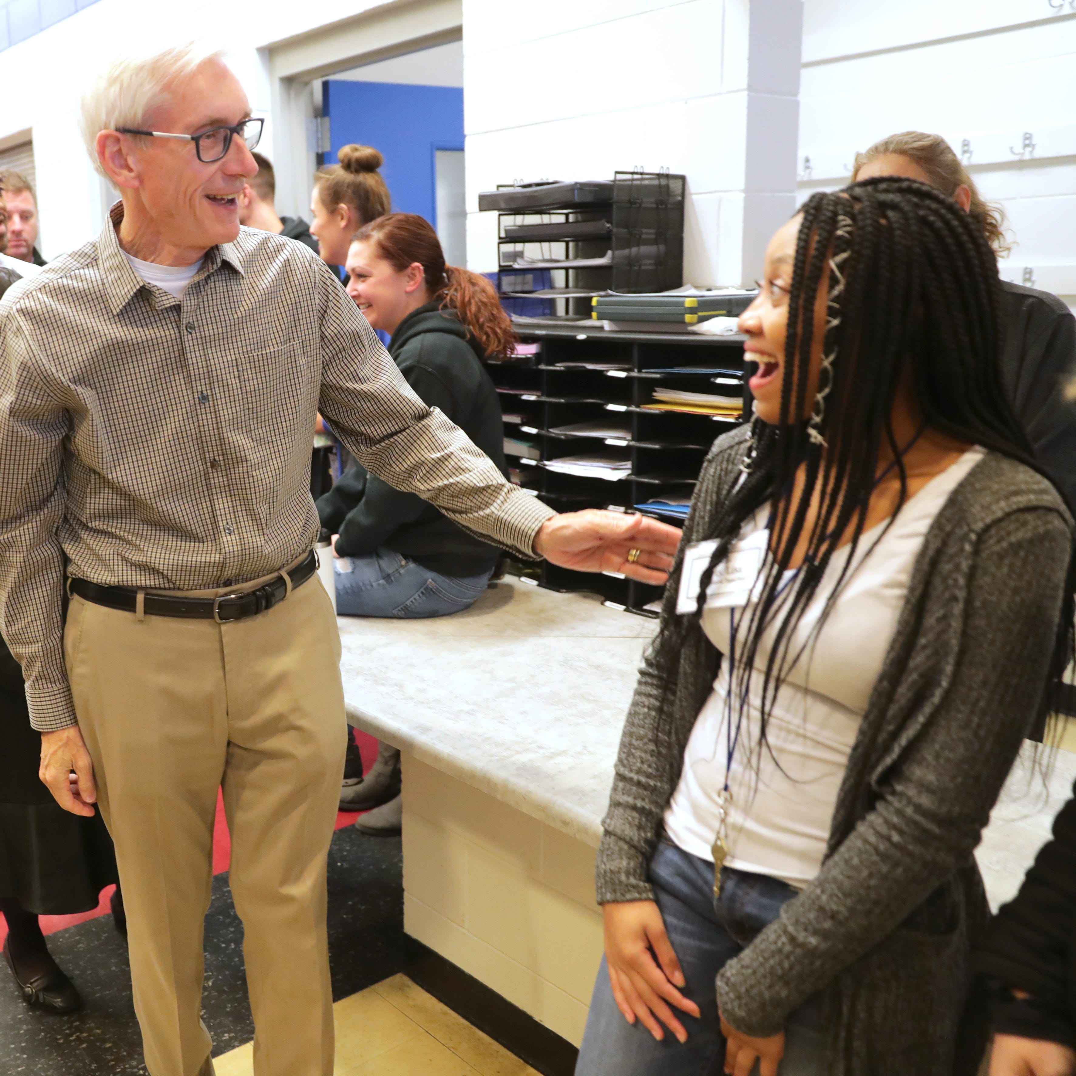 'We have a long way to go': Gov. Tony Evers outlines priorities for youth mental health
