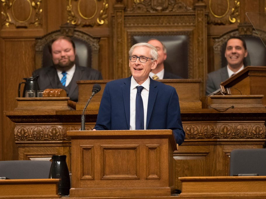Gov. Tony Evers seeks to raise gas tax by 8 cents a gallon while reducing the overall price at the pump