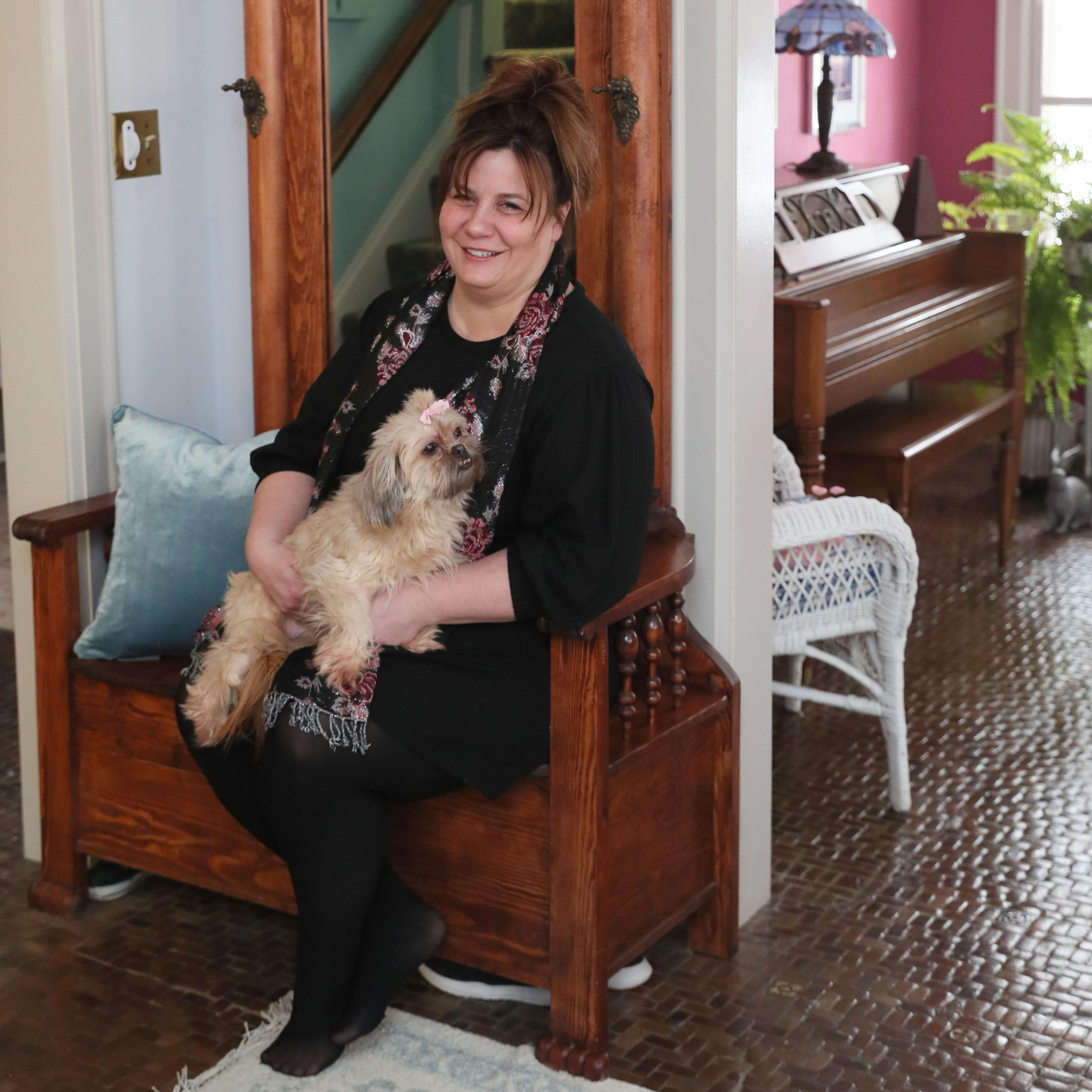 Decor of Washington Heights house fit new homeowner to a T; just add 3  Shih Tzus