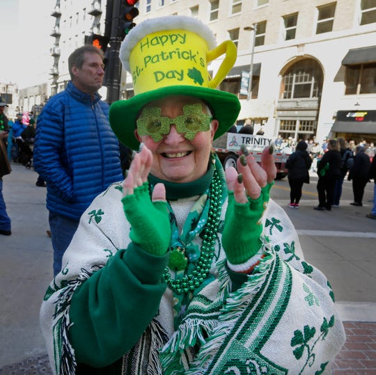Tradition, and lots of people wearing green, fill downtown Milwaukee for the Shamrock Club of Wisconsin's St. Patrick's Day Parade, being held Saturday.