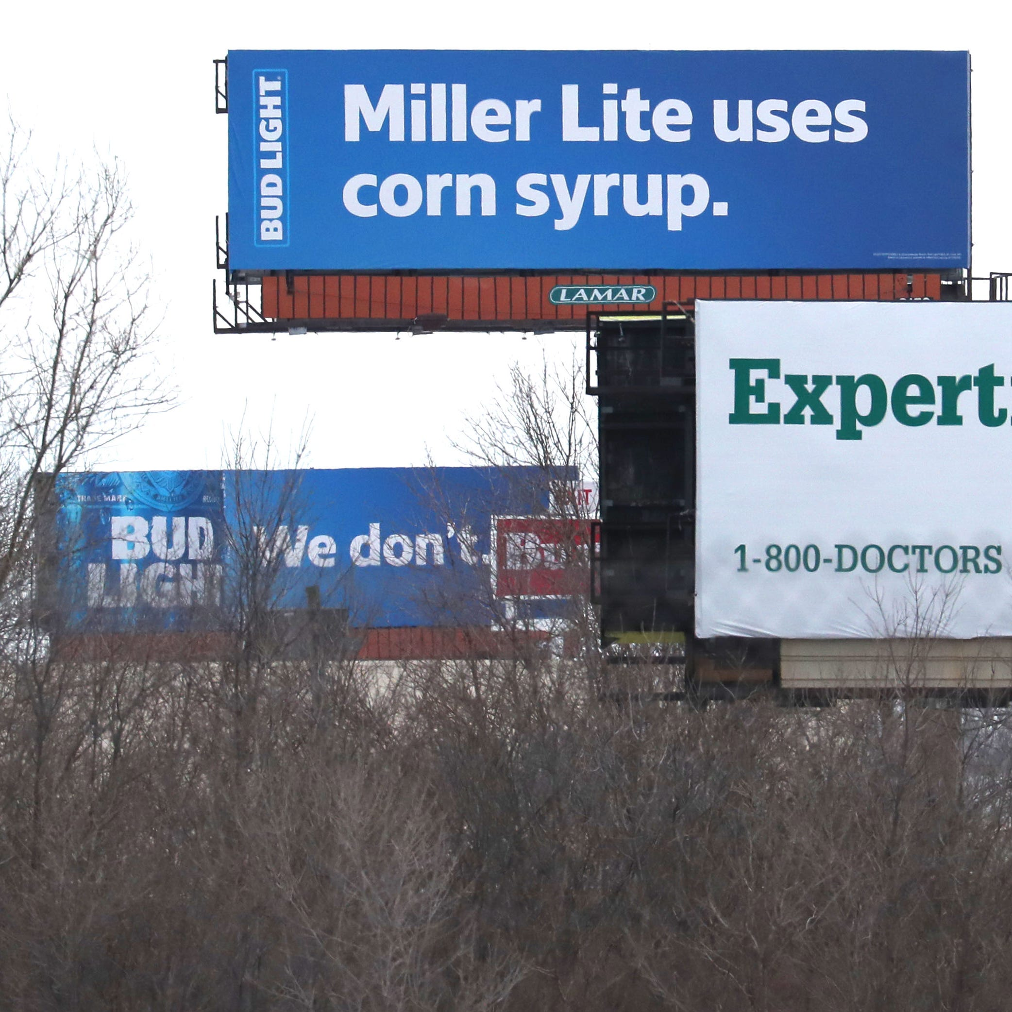 Corn syrup in your beer? MillerCoors sues Anheuser-Busch over controversial ad campaign